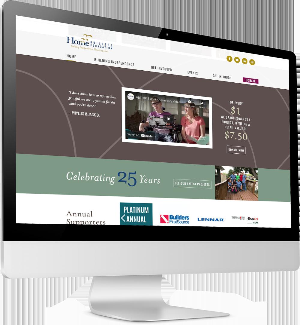 Home Builders Foundation desktop