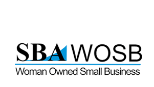 women owned small business logo